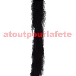 Boa marabout Noir 1,80m 15grs