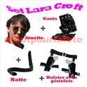 Set Lara Croft (4 Pièces)