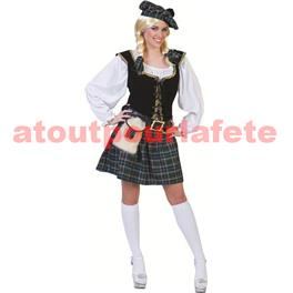 Costume d' Ecossaise sexy (3 pièces) (F)
