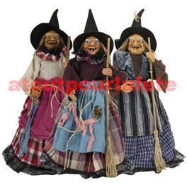Decoration Sorciere Halloween.Decoration Sorciere D Halloween 45cm