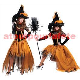 Déguisement de Sorcière d'Halloween (F)