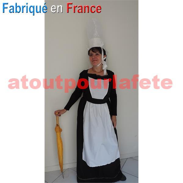 deguisement fille bretonne