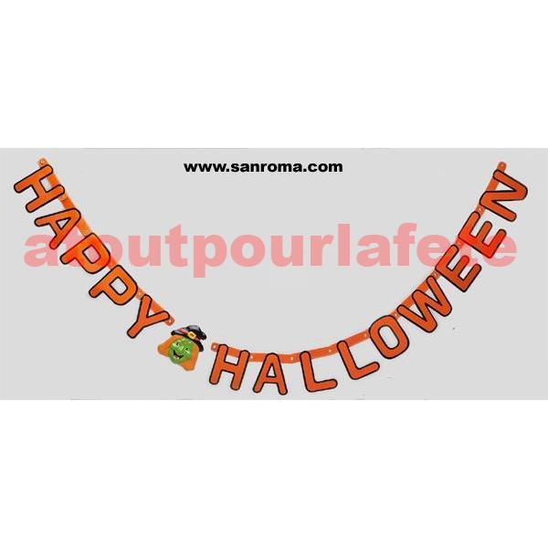 Guirlande halloween - Guirlande halloween a imprimer ...