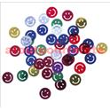"Confetti de Table ""Smiley"" multicolore 1,5cm (sachet de 10Grs)"