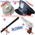 Set de déguisement Policier 4pièces