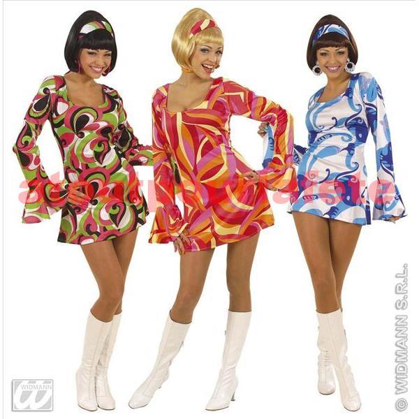 d guisement robe sixties seventies 1960 1970 f. Black Bedroom Furniture Sets. Home Design Ideas