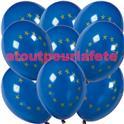 Sac de 10 ballons Europe, UE, Ø 30cm
