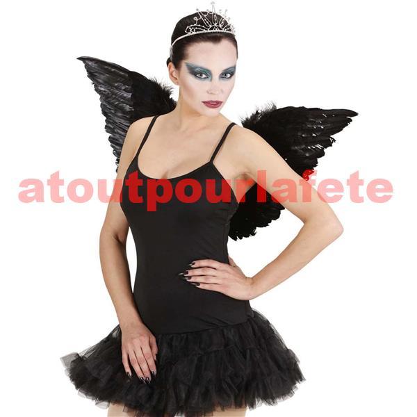 d guisement tutu de danseuse etoile noir ange d moniaque. Black Bedroom Furniture Sets. Home Design Ideas
