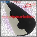 Chapeau, Cône de Clown, Pierrot bicolore , bi couleur, 2 tons