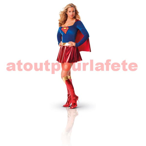 d guisement super h ros femme supergirl. Black Bedroom Furniture Sets. Home Design Ideas