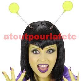 Serre-tete boules phosphorescentes,Martien,Alien,Monstre,