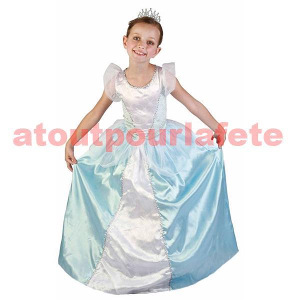 D guisement de princesse bleue enfant disney - Deguisement princesse aurore ...