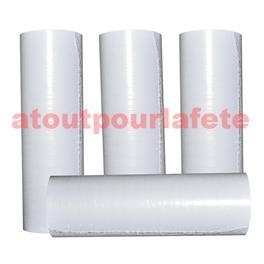 Carton de 100 rouleaux de Serpentins blanc fluorescent