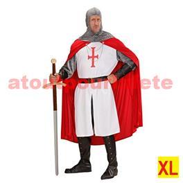 Déguisement de chevalier Croisé Médiéval XL