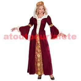 Déguisement de Reine Medievale (F)