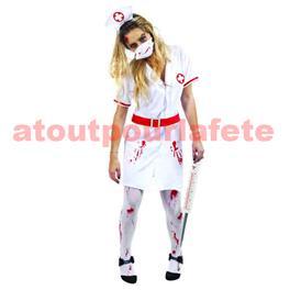 Déguisement infirmière sanglante - Taille Ado