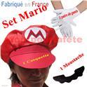 Set de Déguisement Mario Kart 3 pièces