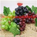 Grappe de raisins factice (noir ou blanc)
