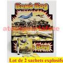 Lot de 2 sachets de Bomb Bag (sachet explosif)